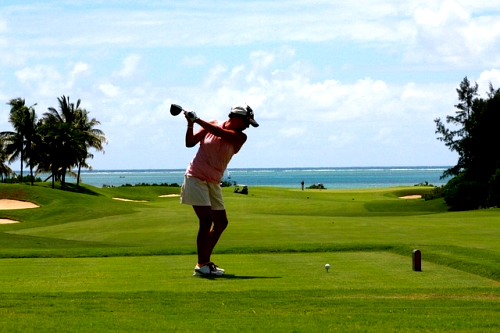 来年の狙い ゴルフの写真