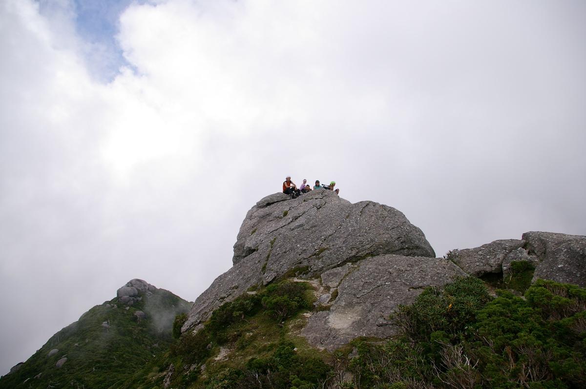 山のてっぺん