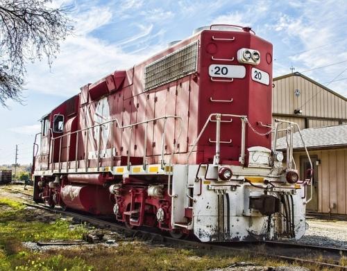 パワフルな列車の写真