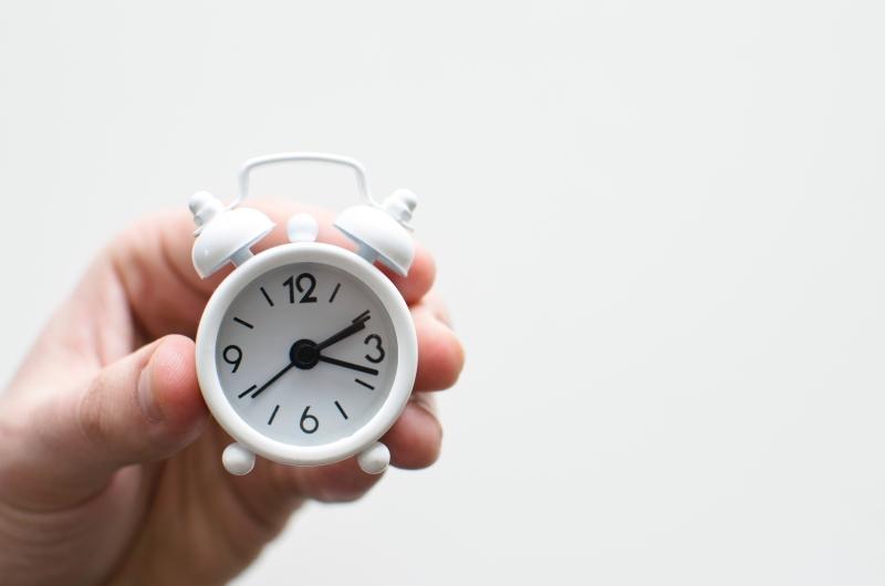 作業時間の確保
